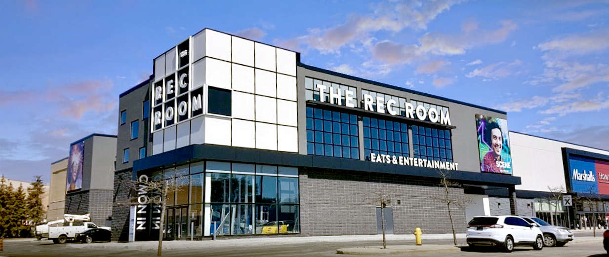 The Rec Room Opens At Cf Masonville Place London Petroff